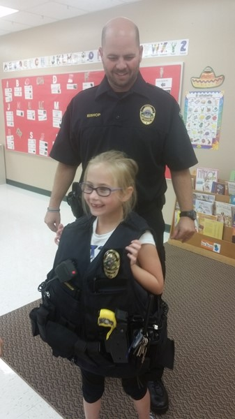 K-2 Community Helpers Project-Kewaskum Police Department Visitor