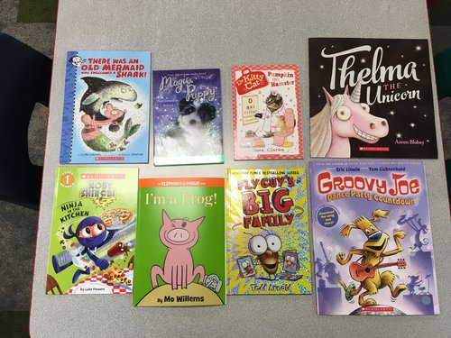 K-2 Classroom Book Donation from PTO