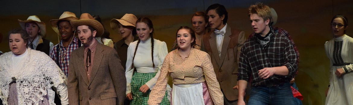 "Performance of ""Oklahoma"""