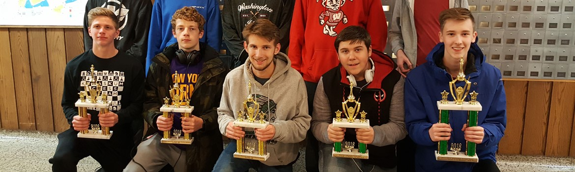 Chess team brings home trophies!