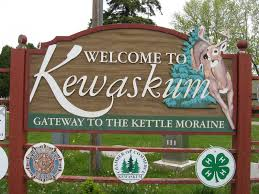 Kewaskum Welcome Sign